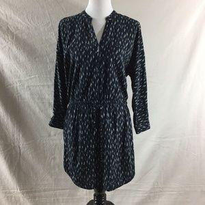 Soft Joie Cassina Ikat Printed Drawstring Dress